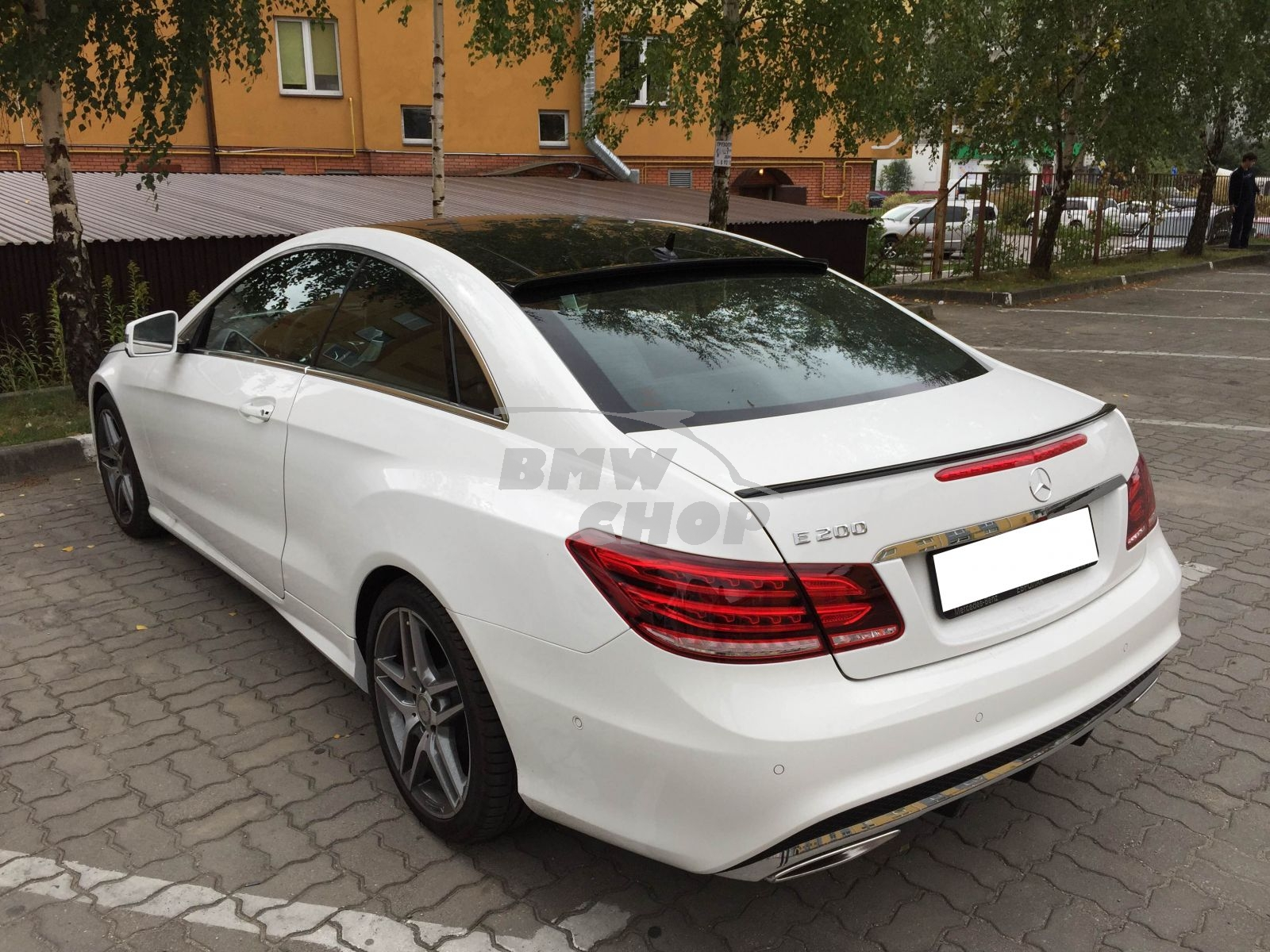 Painted Mercedes Benz C207 E Class 2dr Coupe Rear Window