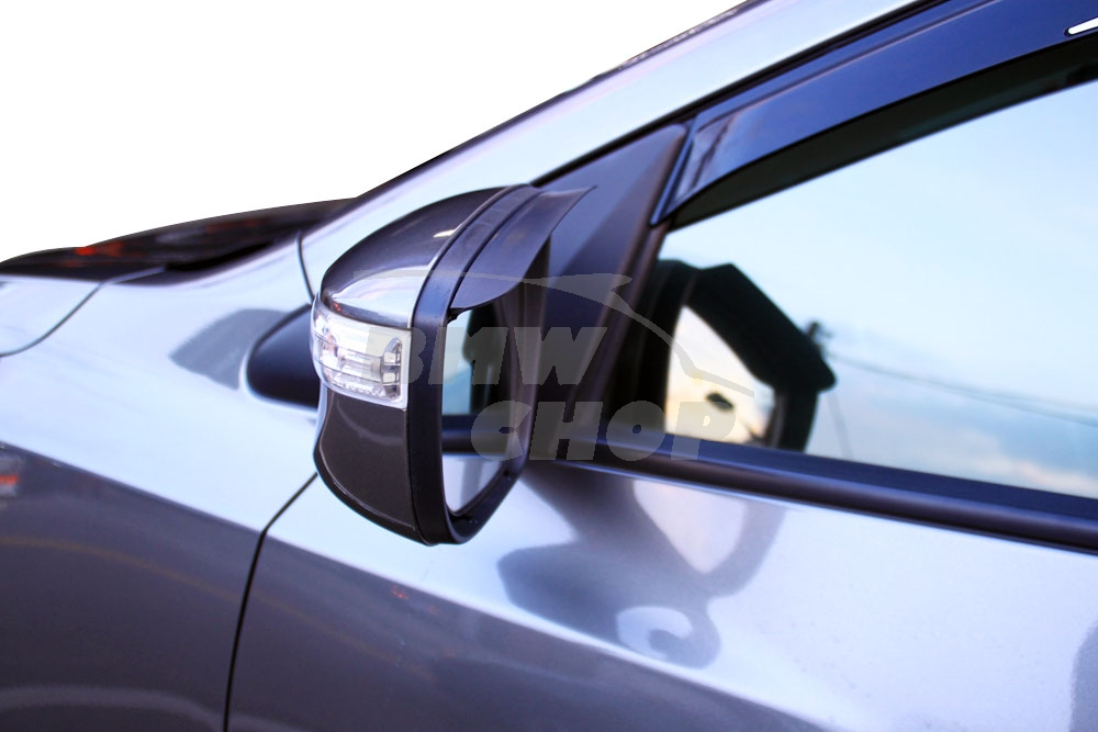 Unpainted benz w205 all vehicle mirror sun shade rain for Mercedes benz car sun shade