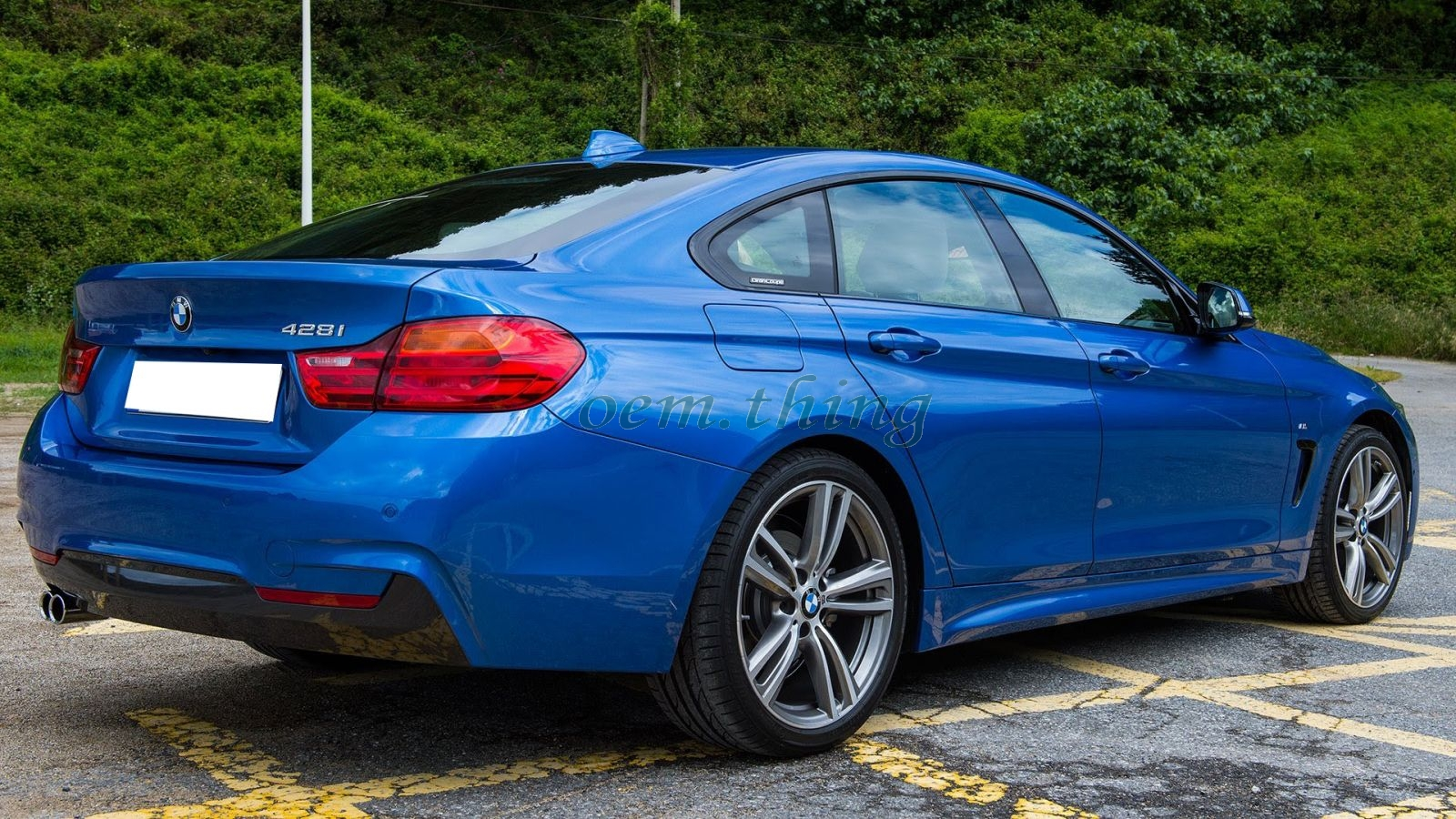 painted bmw 4 series f36 gran coupe 5d fastback. Black Bedroom Furniture Sets. Home Design Ideas
