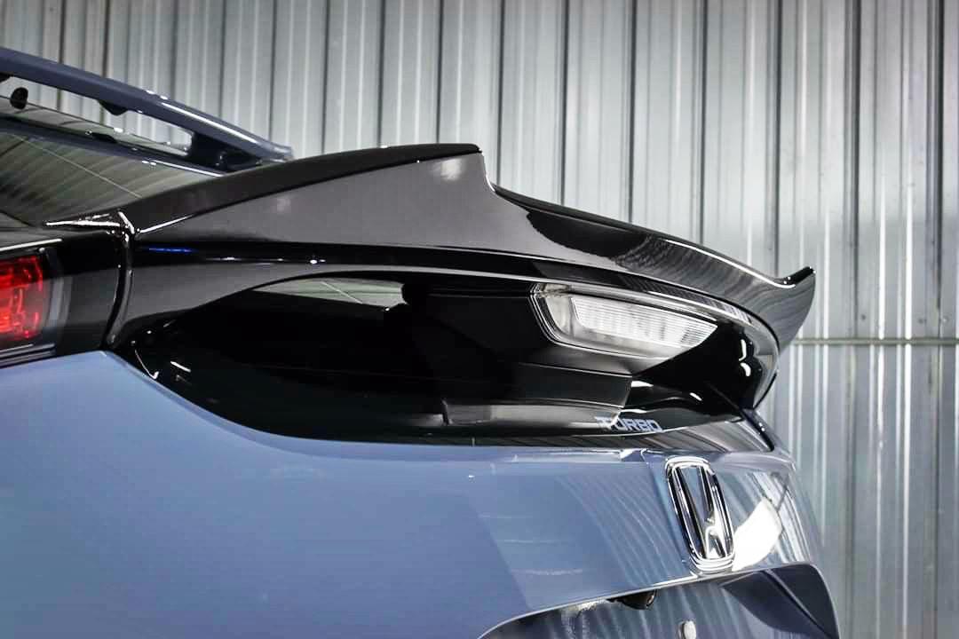 stock in au uff01matte black honda civic 10th hatchback v look